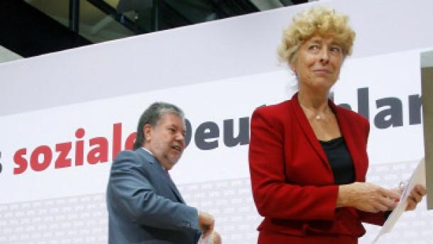 Mehrheit misstraut der SPD