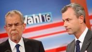 Kopf-an-Kopf-Rennen bei Präsidentenwahl in Österreich