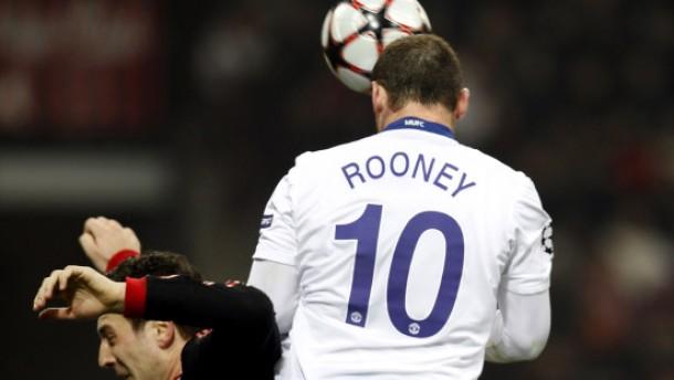 Rooney bereitet Manchester den Weg