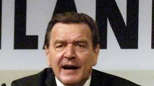 Schröder und Merkel schwören Basis auf Wahlkampf ein
