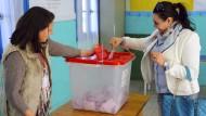 Erste Präsidentenwahl seit arabischem Frühling