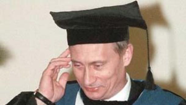 """""""Dr. Putins Arbeit ist ein Plagiat"""""""