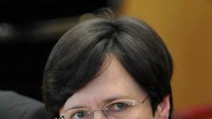 Lieberknecht im dritten Anlauf zur Ministerpräsidentin gewählt