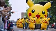Pokémon Go erreicht das Mutterland