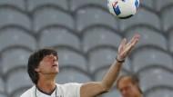 Letzte Vorbereitungen vor Spiel gegen Ukraine