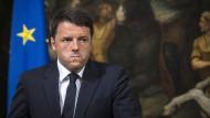 Italiens Regierungschef Renzi sieht Europa in der Bringschuld