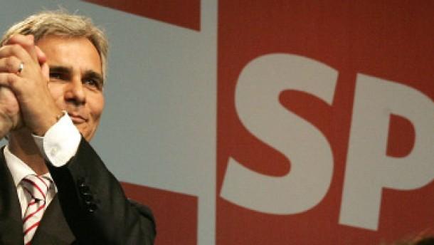 Faymann zum neuen SPÖ-Vorsitzenden gewählt