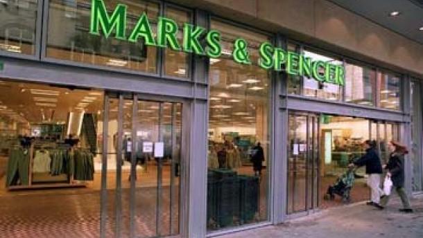 Marks & Spencer-Aktie rennt auf Widerstand zu