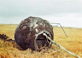 Gagarin - Kugel der Landung