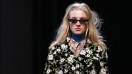Modehaus Rochas gibt sich blumig