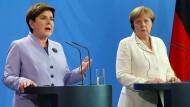 Merkel hofft auf Verbleib der Briten in der EU