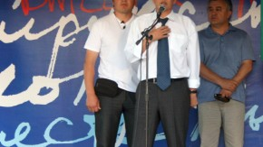 Opposition Almasbek Atambajew