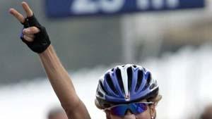 Judith Arndt nach Alleinfahrt Weltmeisterin