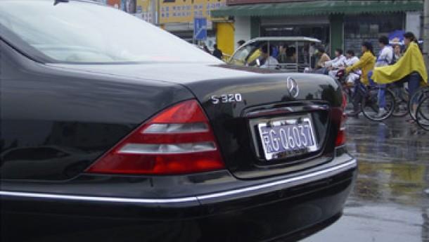 Das Reich der Mitte ist ein wichtiger Markt für Luxuswagen