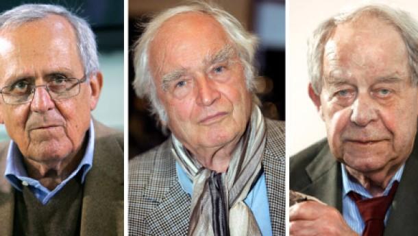 Walser, Lenz und Hildebrandt waren in der NSDAP