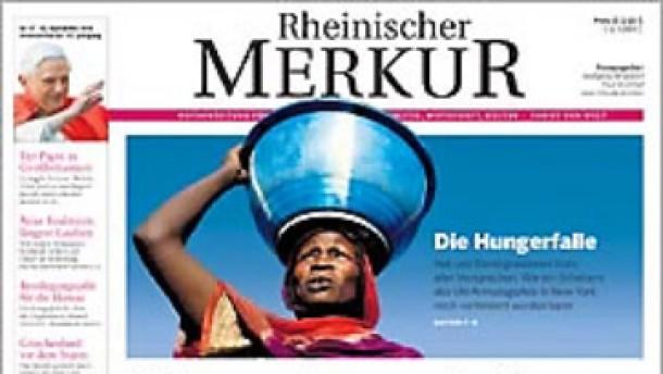 Der Rheinische Merkur wird eingestellt