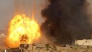 Schwere Explosionen in Sanaa