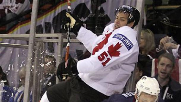 Kanada gewinnt das Bruderduell