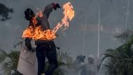 Wieder ein Toter in Venezuela