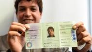 Das ist der neue Ausweis für Flüchtlinge
