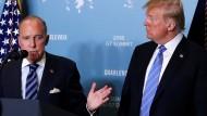 Trumps Wirtschaftsberater erleidet Herzattacke