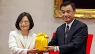 Präsidentin in Taiwan vereidigt