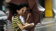 Taifunwarnung für Taiwan