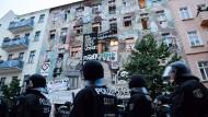 Teilräumung in Rigaer Straße war nicht rechtmäßig
