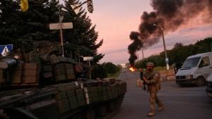 Poroschenko: Noch kein vollständiger Sieg gegen Separatisten
