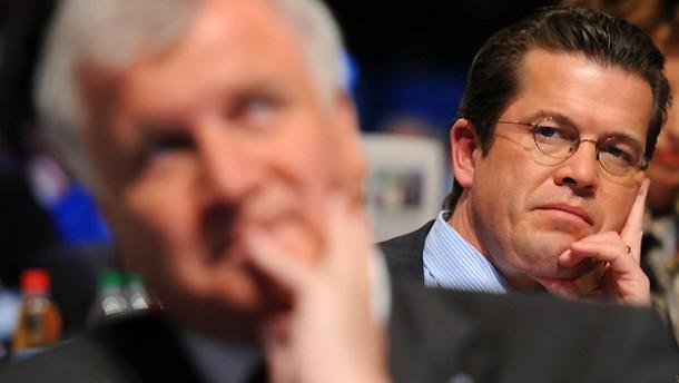Gespräche mit Guttenberg zu gegebener Zeit