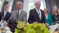 Grün-schwarze Koalitionspremiere in Baden-Württemberg