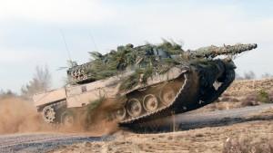 Leopard-II-Panzer ist deutscher Exportschlager