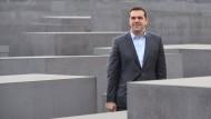 Tsipras besucht Holocaust-Mahnmal