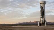 Geheimer Raketentest von Amazon-Gründer Jeff Bezos geglückt