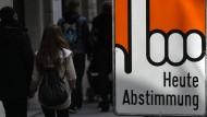 Schweizer lehnen bedingungsloses Grundeinkommen ab