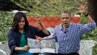 Wie die Obamas Ostern gefeiert haben