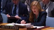 Heftiger Streit im UN-Sicherheitsrat