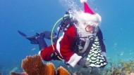 Weihnachtsmann taucht ab