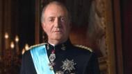 Seit 1976 auf dem Thron: Juan Carlos