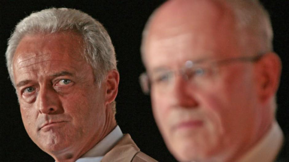 Fronten auf vielen Feldern: Landesgruppenchef Ramsauer und Fraktionschef Kauder