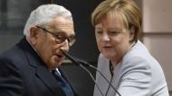 Merkel gegen amerikanische Abschottungspolitik