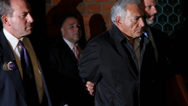 Strauss-Kahn droht lange Haft
