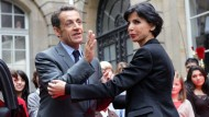 Sarkozys einstige Vertraute Dati gibt ihr Amt auf