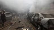 Video soll Zerstörung in syrischem Idlib zeigen