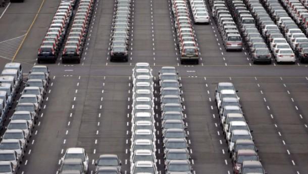 Japans Export sinkt um ein Viertel