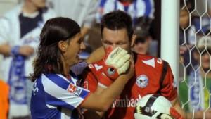 Hertha vergibt beste Chancen beim Remis