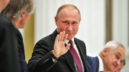 Deutsche Manager werben um Putins Gunst