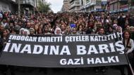Demonstrationen und Krawalle in der Türkei