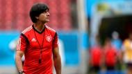 Löw blickt mit Zuversicht auf WM-Spiel