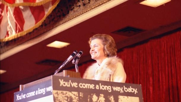 Präsidenten-Witwe Betty Ford ist tot
